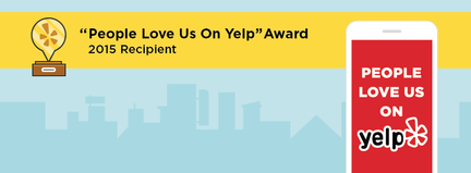 smog check excellence award by yelp